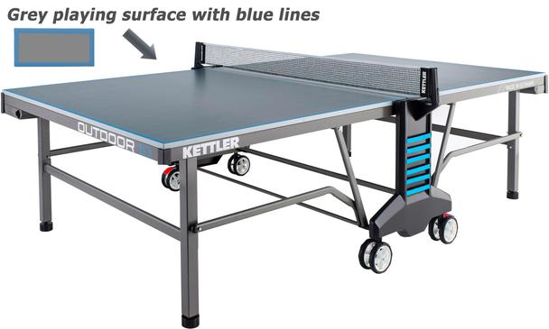 Kettler Classic 10 Outdoor Table Tennis Table