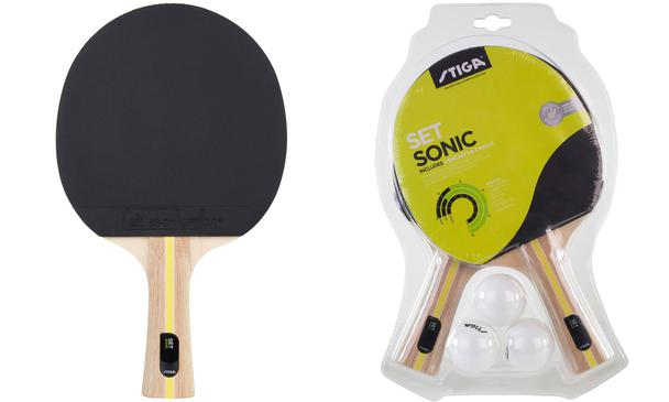 Stiga Sonic Table Tennis Bat Set
