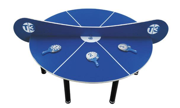 T3 SuperMini Indoor Ping Pong Table