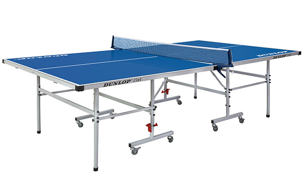 Blue Dunlop TTo1 Outdoor Table Tennis Table