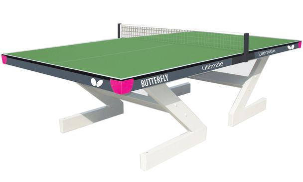 Butterfly Ultimate Green Outdoor Table Tennis Table
