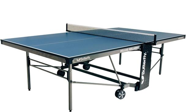 Butterfly Deluxe Indoor Table Tennis Table: Discontinued