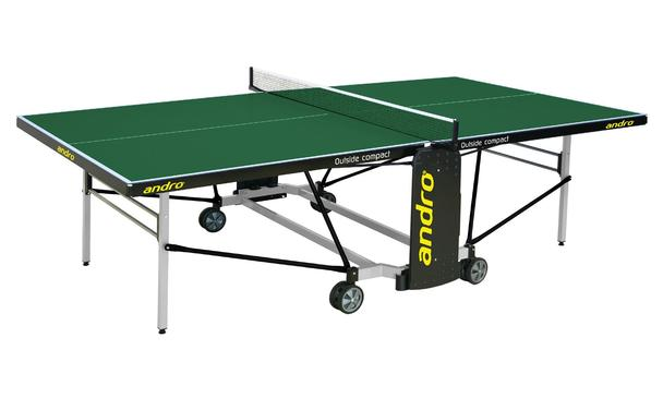 Andro Outdoor Playback Compact Table Tennis Table: Discontinued