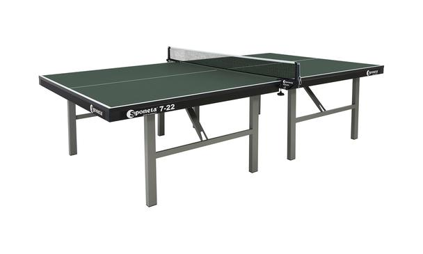 Sponeta Pro-Competition Indoor table tennis table in Green