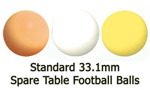 10 x Standard White 33.1mm Garlando Footballs